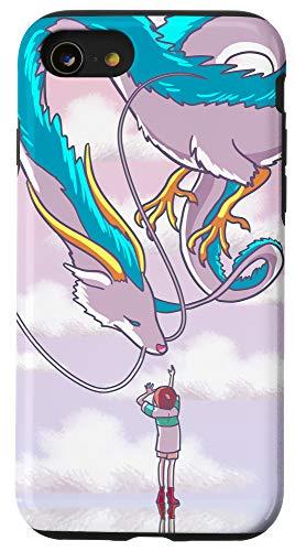 iPhone SE (2020) / 7 / 8 Anime Dragon Cool Hobbies Animation Manga Japanese Gift Case