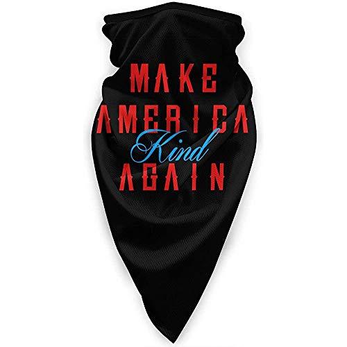 Zome Lag hoofddeksels, outdoor-bandanas, bivakmuts, uniseks, multifunctionele hoofdband, maak je Amerika weer vriendelijk 13 outdoor bandana's, gezichtssjaal, soft headwrap