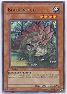 Yu-Gi-Oh! - Black Stego SD09-EN013 Common - Dinosaur's Rage Structure Deck