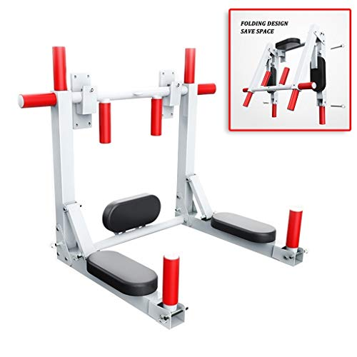 Lowest Price! Pull-up Bars Pull-ups Wall Horizontal bar Single Parallel Bars on The Wall Indoor Fitness Equipment 90 Degree Rotation (Color : White, Size : 967272cm)