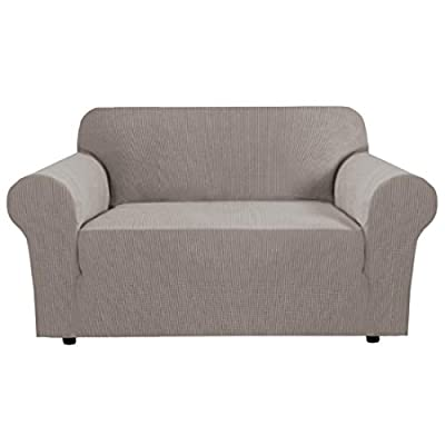 """Stretch Couch Cover Loveseat Covers for 2 Cushion Couch Loveseat Slipcover
