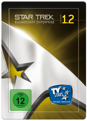 Raumschiff Enterprise - Staffel 1.2, Remastered (4 DVDs im Steelbook)