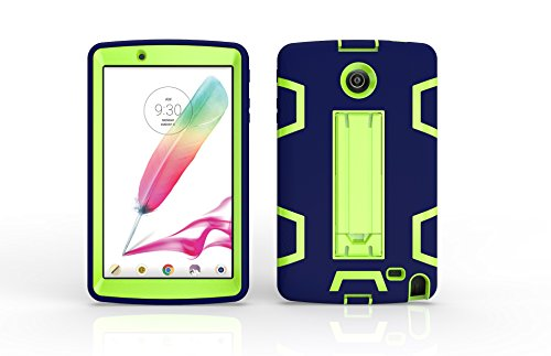 LG G Pad F 8.0 / G Pad II 8.0 Case, Jeccy Dual layer Full-body Shock Proof Hybrid Heavy Duty Armor Defender Protective Case with Kickstand for LG G Pad II 8.0 V495 V496 V498