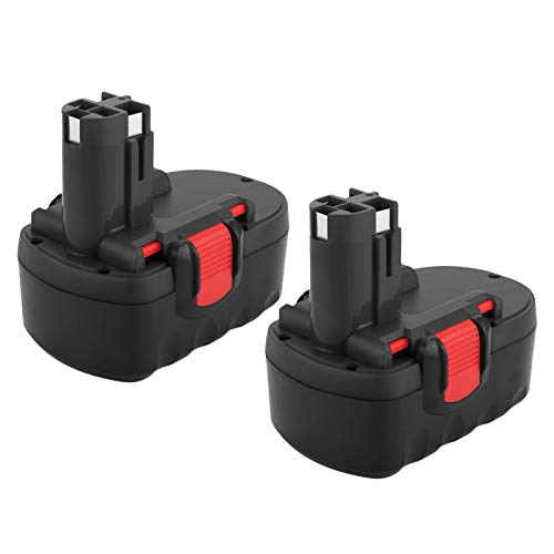 Joiry Replacement Battery for 18V Bosch Power Tools BAT025 BAT026 BAT160 BAT180 BAT181 BAT189 Bosch 3000mA NiMH Battery