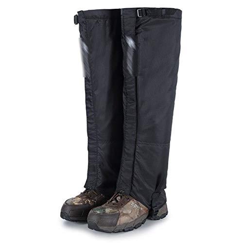 LXESWM Gaiters Verstelbare Waterdichte Leggings Sneeuwlaarzen Beschermende Covers Snake Bite Bescherming Beenbeschermers Ski Warm Boot Covers, Outdoor Snake Gaiter Beenbescherming (Maat: M)