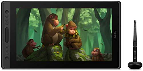 HUION Tablet Drawing Kamvas Pro 16 Pen Tablet Display inclinado ecologicamente correto Caneta sem bateria Tecnologia Full-Laminated 8192 Caneta Pressão 120% sRGB 1000: 1 Relação de contraste com suporte (sem prateleira, com luvas)