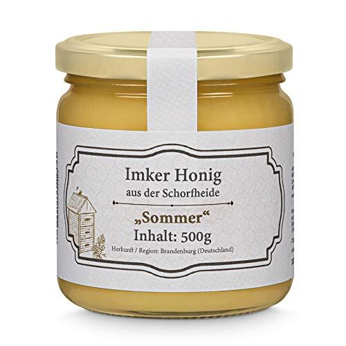 vitameister Honig aus der Schorfheide (Deutschland), 500g, unbehandelt, Sommerblüte, aus eigener Imkerei