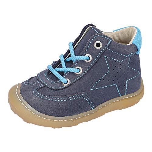 RICOSTA Pepino Mixte Enfant Bottes, Boots Sami, Fille,Garcon Chaussures bébé,Chaussure à Lacets,Largeur: Normale (WMS),See,21 EU / 5 Child UK