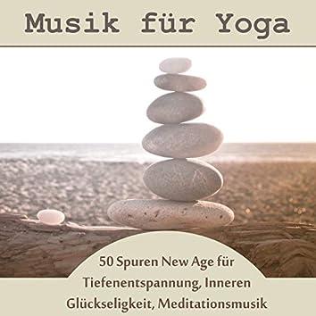 Musik für Yoga: 50 Spuren New Age für Tiefenentspannung, Inneren Glückseligkeit, Meditationsmusik