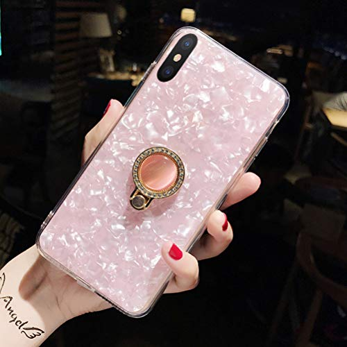 iPhone Xs Max Cases,iPhone X Max Case,iPhone 10s Max Case,Clear Ring Holder for Men/Women/Girl's XsMax Xmax 10sMax Back Phone Gift Accessories Shell Protective Cover