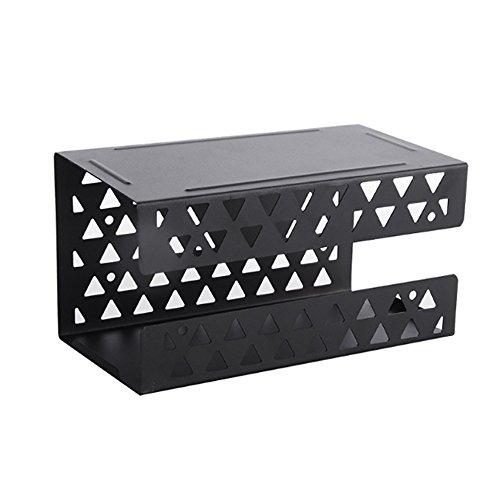 Pengyu Taille Unique Noir Bo/îte de Rangement pour lingettes de Toilette s/èches et humides pour b/éb/é avec Couvercle /à Boucle