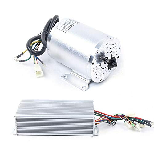 Electric DC Motor Brushless Motor & Speed Controller 72V 3000W Electric Scooter E-Bike E-Moto Mini Electric Car DIY BLDC Brushless Motor Speed Controller Kit 5800RPM High Speed (DC 72V 3000W)