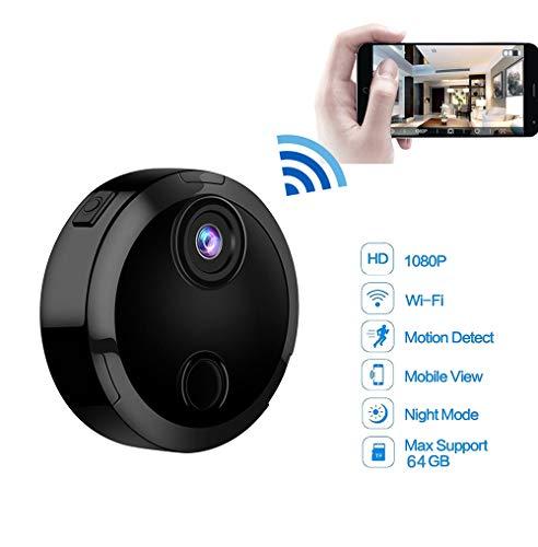 SHENGY Mini WiFi IP-camera HD 1080P infrarood nachtzicht micro-netwerk-camcorder 150 ° groothoek bewaking alarmoproepen camera