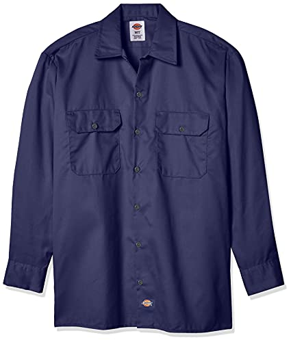 Dickies Chemise Manches longues Homme Bleu marine XXL