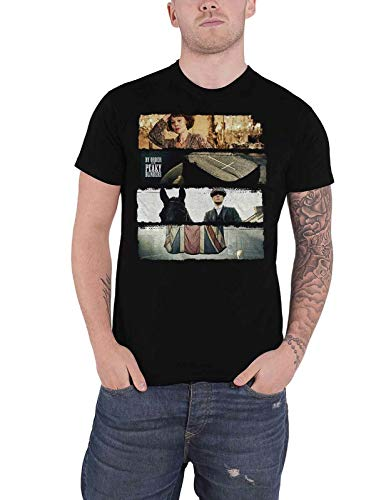 Peaky Blinders T Shirt Slices TV Show Logo New Official Mens Black,XL