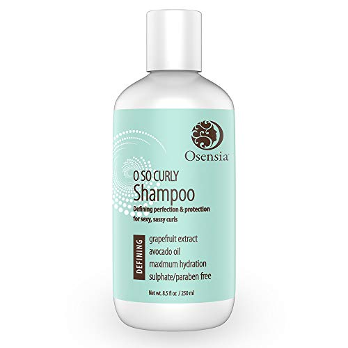 Curl Shampoo for Sexy Curls - No Frizzy Hair - Paraben and Sulfate Free Shampoo with Nourishing...