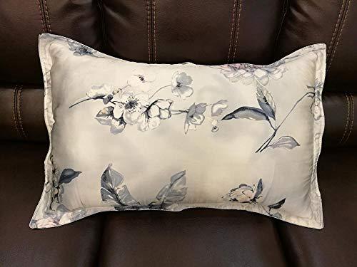 Pillowcase 100% Silk Color Pillowcase Oxford 2-Sided Envelope Design Pillowcase-Number 9_Queen