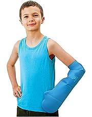 Bloccs waterdichte gipshoes, zwemmen, douchen en baden. Waterdichte bescherming, kinderen onderarm (M)