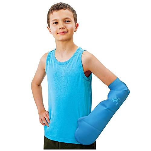 Bloccs – Kurzer wasserdichter Armprotektor für Gipsverbände, Kinder (M)
