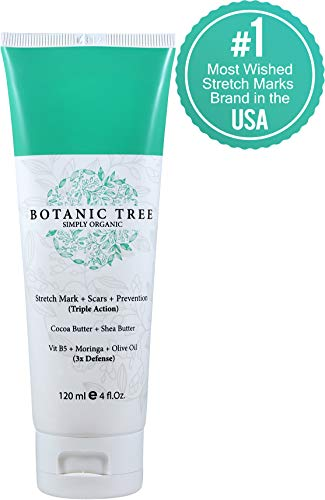 Stretch Mark Cream Removal- Buy 1 Get 1 Natural Stretch Mark Oil FREE(Pack of 2)It Helps To Decrease Stretch Marks in 93% of Customers in 2 Months-Helping Scars and Prevention-Contains Organic Cocoa, Shea Butter And Avocado.