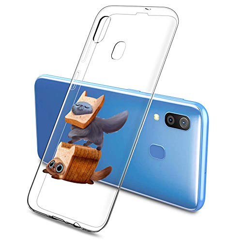 Suhctup Funda compatible con Huawei Honor Play Teléfono Móvil TPU Bumper Silicona...