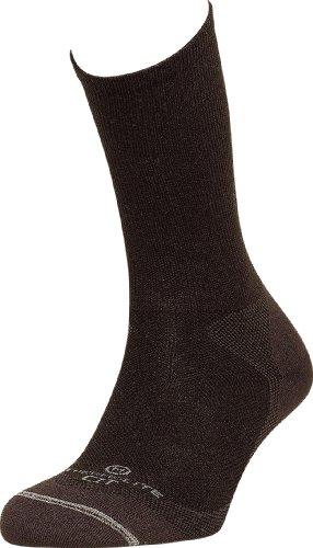 Lorpen Socken Thermolite Wandersocken TCXTM Liner, Herren Unisex, schwarz, XL