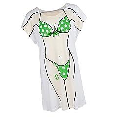 Camiseta de Abrigo Estampado de Bikini Fiestas de Disfraces Noche de Bachelorette
