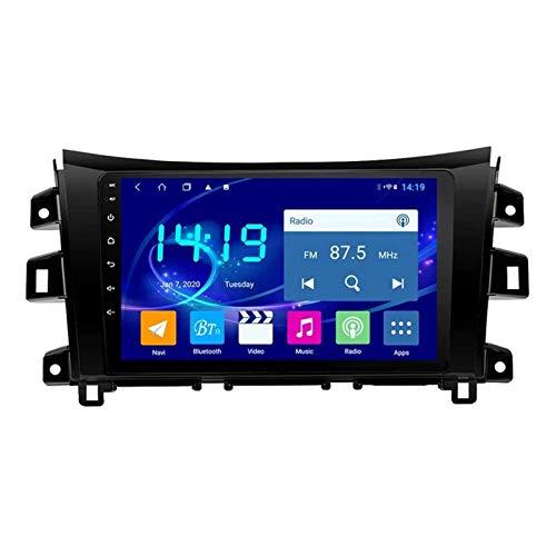 ZHANGYY Navegación para automóvil Estéreo Reproductor Multimedia táctil Sn de 10.1 Pulgadas Compatible con Nissan Navara NP300 2016-2018, Bluetooth/GPS/FM/RDS/SWC/Mirror Link/Cámara de v