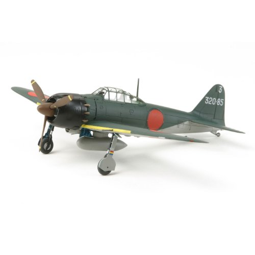 Tamiya 300060779 - Maqueta de avión Mitsubishi A6M5 Zero Fighter (Escala 1:72, Segunda Guerra Mundial)