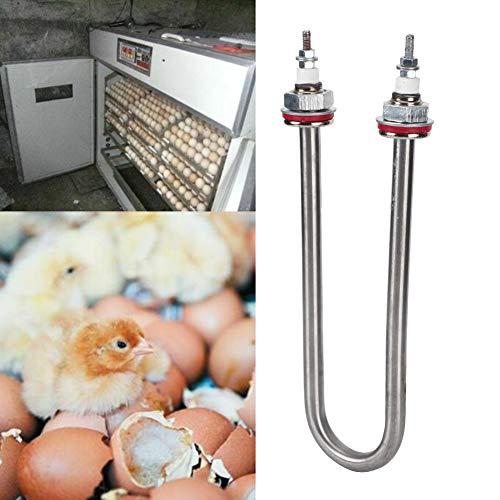 Redxiao Tubo de humidificación Alimentación de Aves de Corral Humidificador de incubadora Resistente al Desgaste Seguro y confiable, Cría de Aves de Corral para Accesorio de incubadora(200W)
