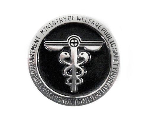 PSYCHO-PASS - psychopaths - Public Security Bureau Pins