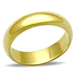 Stainless Steel Gold Bonded; Stamped; Never Tarnish Lifetime Guarantee Outstanding Quality
