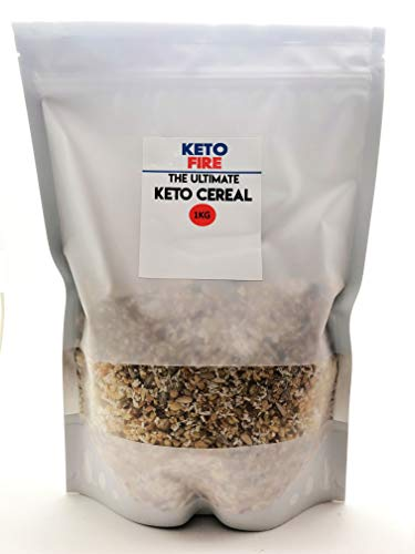 Ultimate Keto Cereal (Low Carb) No Added Sugar - Natural and...