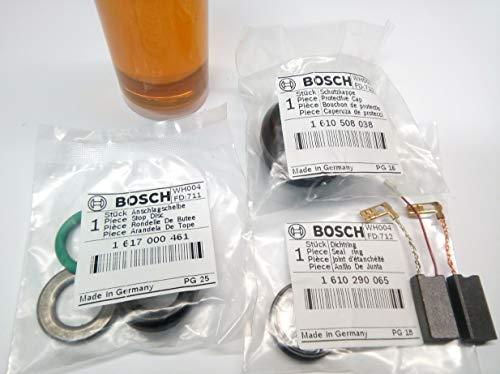 Bosch GBH 5-40 DE Wartung Reparatur Set Kohlen Schutzkappe Dichtungen Scheibe Öl
