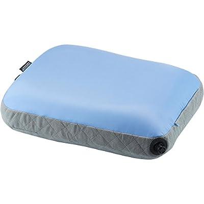 Cocoon AIR CORE Travel Pillow Ultralight 28X38 cm (Light Blue/Grey)