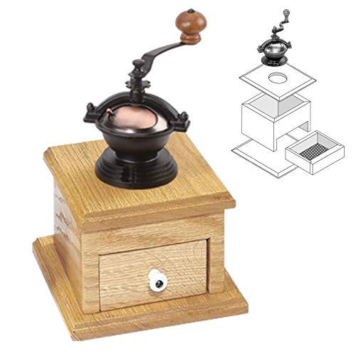 Penn State Industries PKGRIND3 Small Copper Antique Style Coffee Grinder Mechanism Kit Woodworking Project