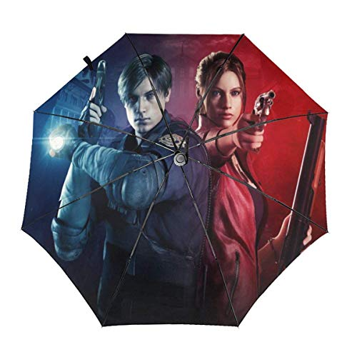 Spiel Resident Evil Automatische Taschenschirm Travel Winddicht Wasserdicht Anti Regen/Sonnenschirm UV-Schutz Sonnenschirme