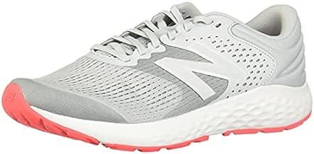 New Balance Women's 520 V7 Running Shoe, Grey/Dark Grey/Pink, 10