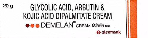 Glenmark Demelan Cream 20g - Hyperpigmentation Cream for Dark Spots on Face and Body