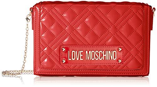 Love Moschino Jc4054pp1a, Borsa a Tracolla Donna, Rosso (Rosso), 5x13x20 cm (W x H x L)