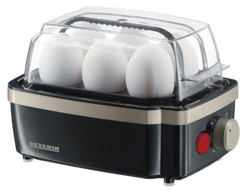 Severin 3157 - Nuevo Cuece Huevos Negro...