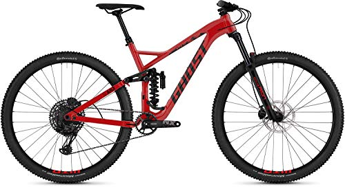 Ghost Slamr 2.9 AL U 29R Fullsuspension Mountain Bike 2019 - Bicicleta de montaña (46 cm), color rojo y negro