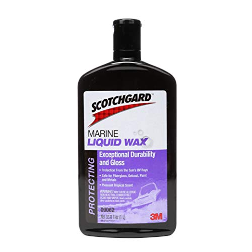 Scotchgard Marine Liquid Wax, 09062, 33.8 fl oz (1 L)