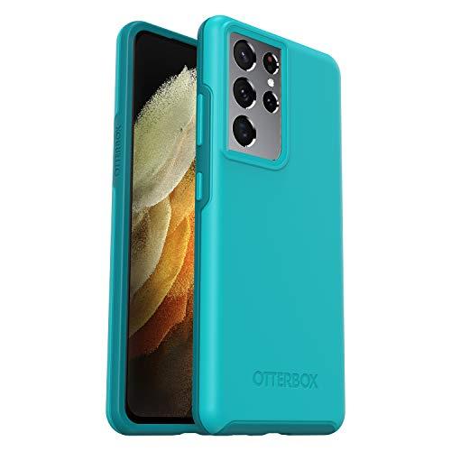 OtterBox Custodia Serie Symmetry Protezione Sottile, Anti-Caduta e Minimalista per Samsung Galaxy S21 ULTRA, Blu