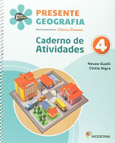 Presente Geo 4 Edição 5 Caderno