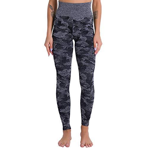 NIGHTMARE Leggings de Entrenamiento Pantalones de Yoga Control de Barriga, Leggings de Entrenamiento para Correr para Mujeres Deportes Correr Leggings de Entrenamiento para Mujeres M