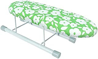 KAN DU Best Design Ironing Board Home Travel Portable Sleeve Cuffs Mini Table with Folding Legs, Sleeve Board Cover - Vintage Folding Ironing Board, Vintage Clothing Line, Wood Ironing Board