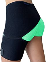 Groin Support – Hip Brace for Sciatica Pain Relief, Thigh, Hamstring, Quadriceps, Hip Arthritis. Compression Groin Wrap for Pulled Muscles, Hip Joint Pain. Sciatica brace / SI belt for Men, Women