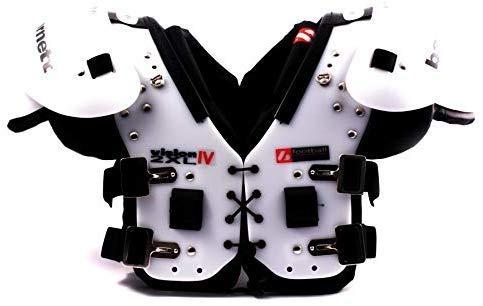 VISION IV American Football Schulterschutz, sehr leicht, Gr M, Farbe schwarz