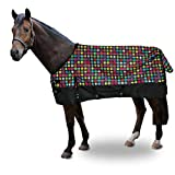 <span class='highlight'><span class='highlight'>tigerbox</span></span> Multicolour Summer Turnout Rug 50g Fill Waterproof 600D Ripstop with Standard Neck - 6'6